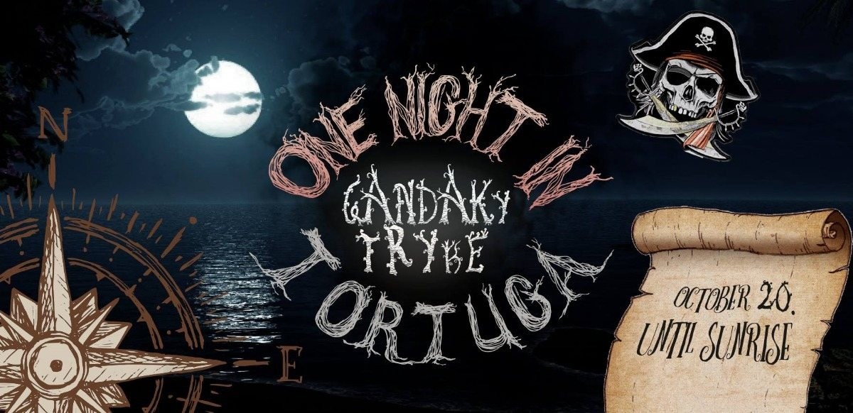 Party Flyer ༺ ONE NIGHT IN TORTUGA….༺ 20 October Saturday 2018 20 Oct '18, 19:00