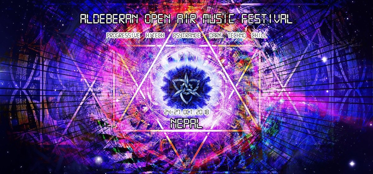 Party Flyer ALDEBERAN Open Air Music Festival 2018 24 Oct '18, 22:00