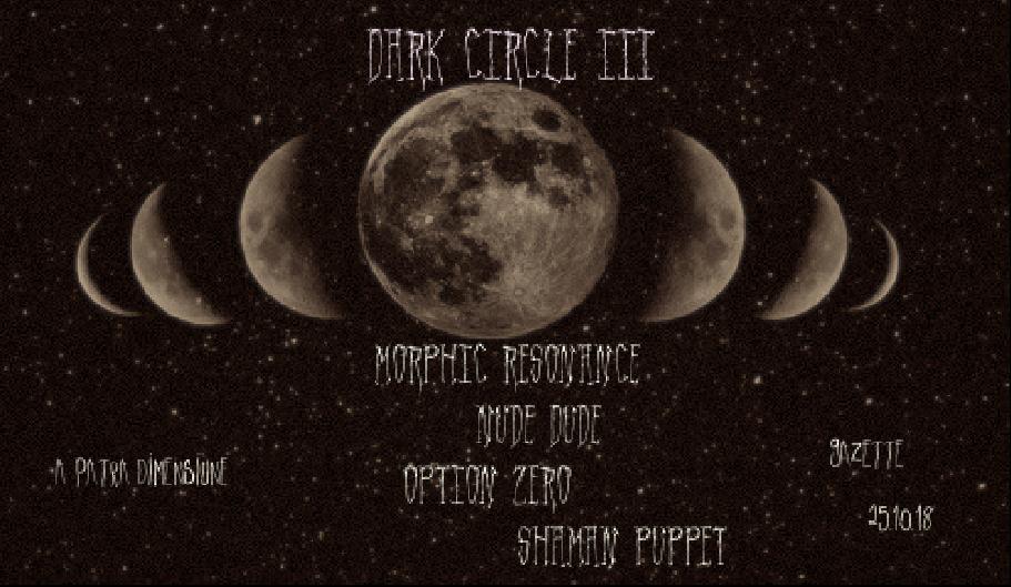 Party Flyer Dark Circle lll 25 Oct '18, 22:00