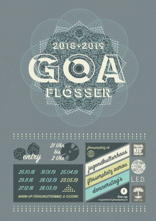 Party Flyer •¸¸☆ gOaFlÖsSeR •* 25 Oct '18, 21:00