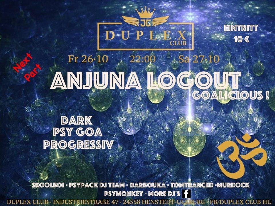 Party Flyer Anjuna 26 Oct '18, 22:00