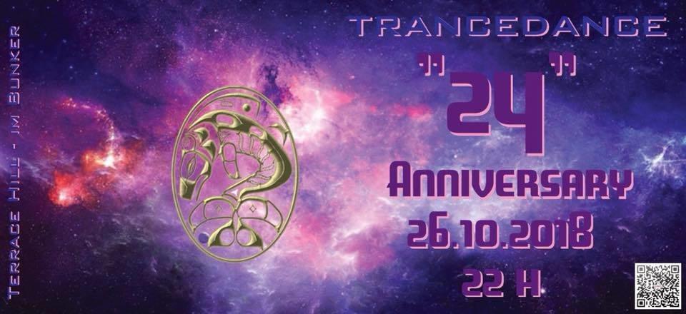 Party Flyer Atisha´s TranceDance - 24 Anniversary Celebration 26 Oct '18, 22:00