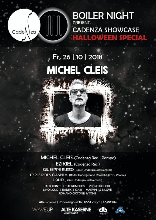Party Flyer Cadenza Show case HALLOWEEN SPECIAL 26 Oct '18, 20:00
