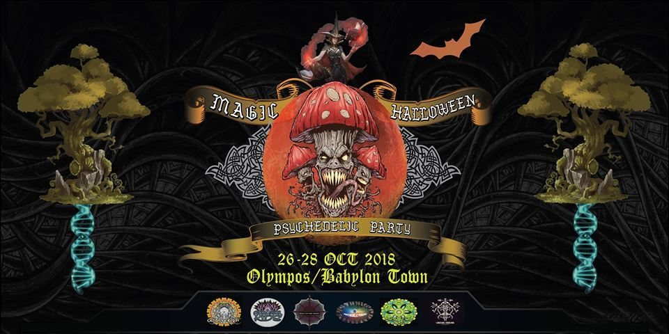 Party Flyer Magic Halloween Party 26 Oct '18, 18:30