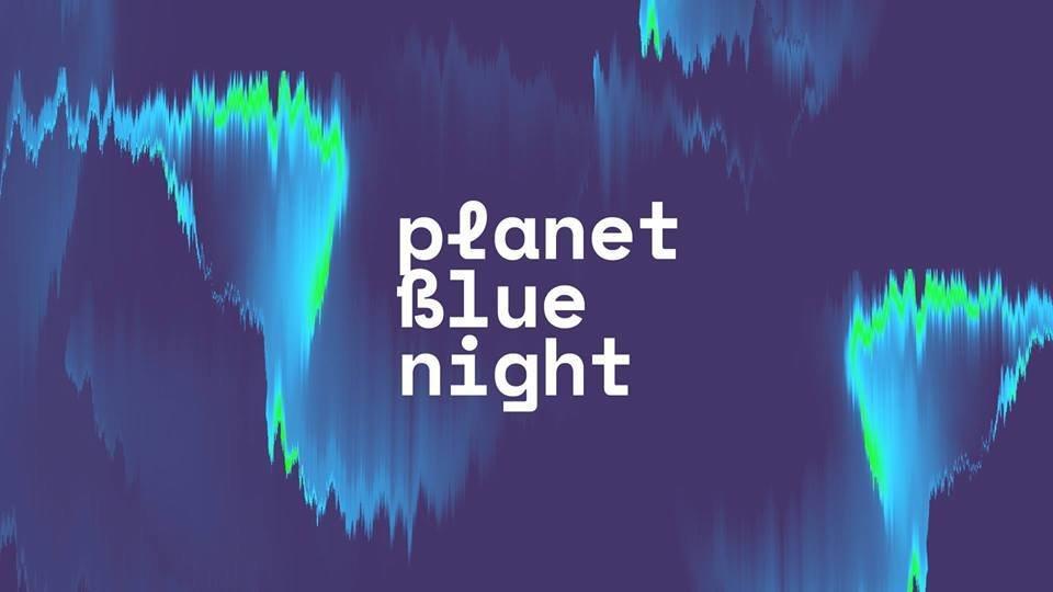 Party Flyer Planet Blue Night w/ Rastaliens 26 Oct '18, 21:00
