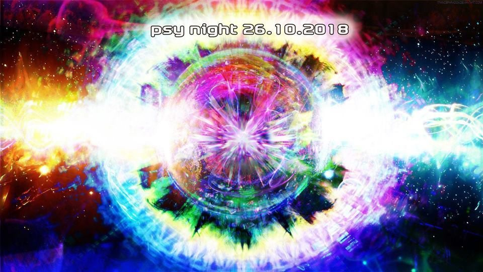 Party Flyer Psy Night at Schlaflos 26 Oct '18, 23:00