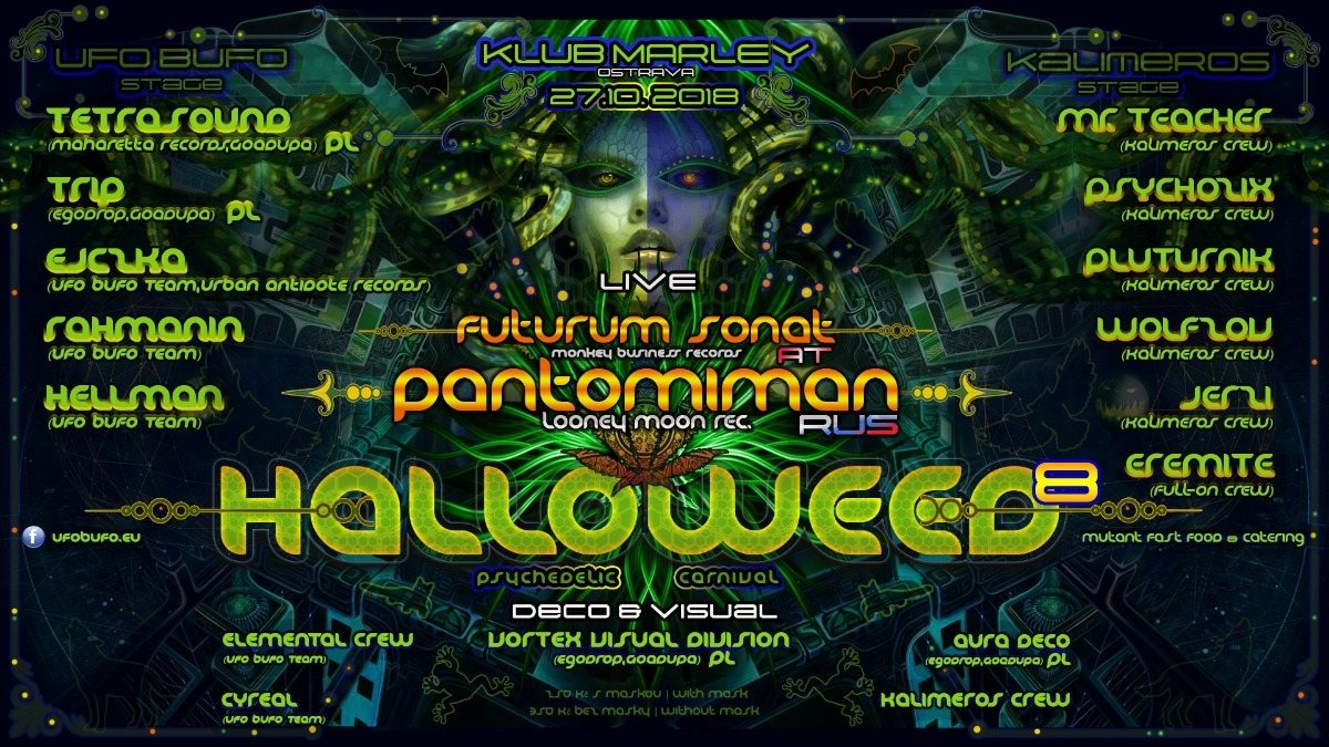 Party Flyer HALLOWEED 8 27 Oct '18, 22:00