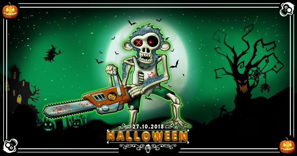 Party Flyer Halloween w/ HITECH, PSYTRANCE & Techno 27 Oct '18, 23:00