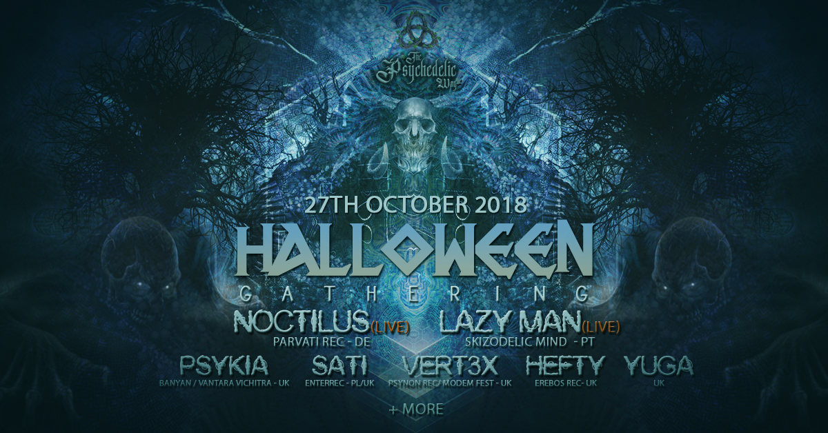 Party Flyer The Psychedelic Way Halloween Gathering 27 Oct '18, 22:00