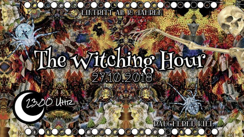 Party Flyer The witching hour 27 Oct '18, 23:00