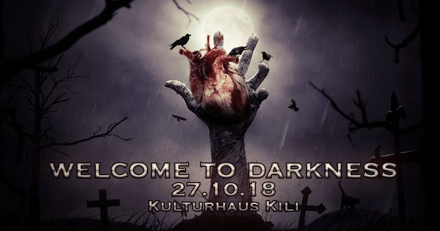 Party Flyer Welcome To Darkness (Hitech & Darkpsy) 27 Oct '18, 23:00