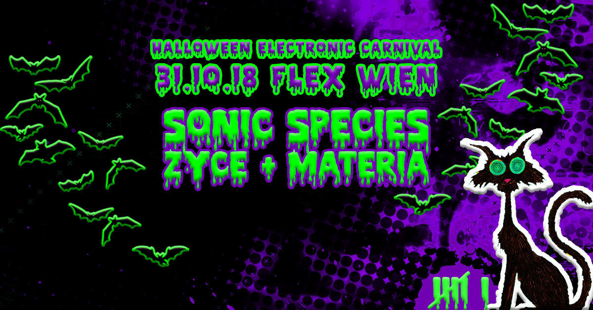 Party Flyer HEC Halloween Electronic Carnival 31 Oct '18, 22:00