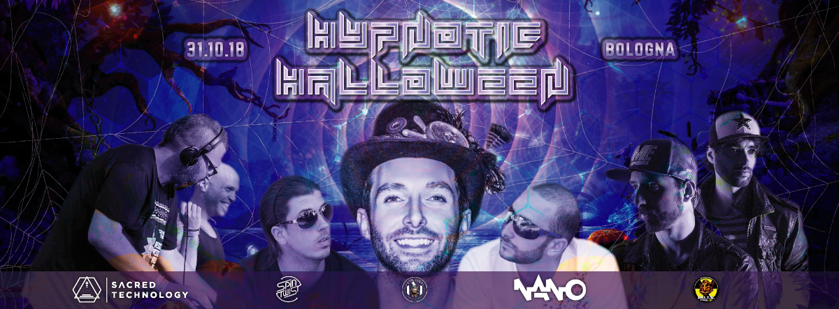Party Flyer Hypnotic Halloween (Avalon-Outsiders-Volcano On Mars-ComingSoon) + After 31 Oct '18, 22:00