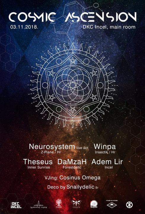 Cosmic Ascension 3 Nov '18, 23:00