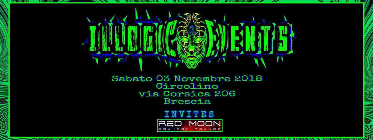 Party Flyer Illogic Events at circolino Brescia(IT) 3 Nov '18, 23:00