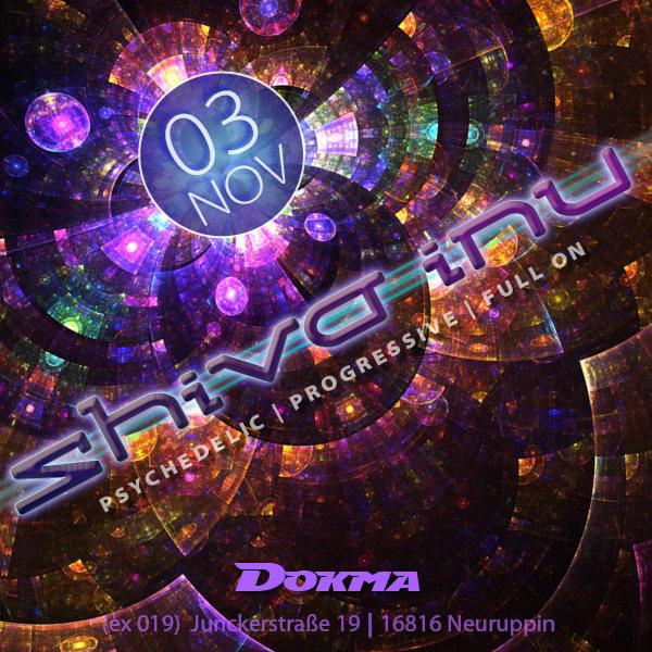 Party Flyer shiva inu 3 Nov '18, 22:00