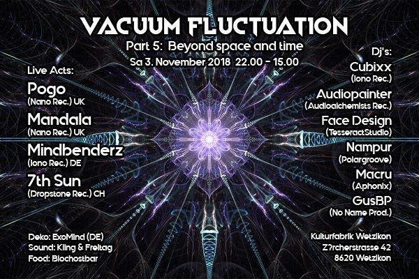 Vacuum Fluctuation 3 Nov '18, 22:00