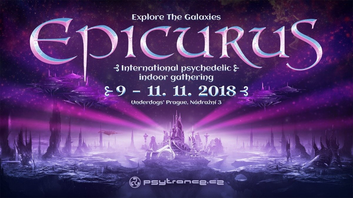 Party Flyer Explore The Galaxies - Epicurus 9 Nov '18, 20:00