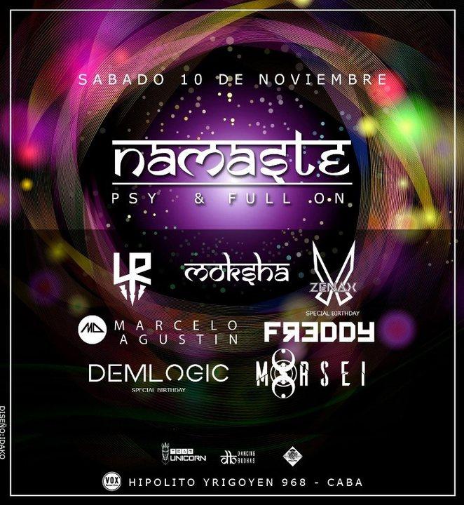 Party Flyer Namaste 10 Nov '18, 23:30