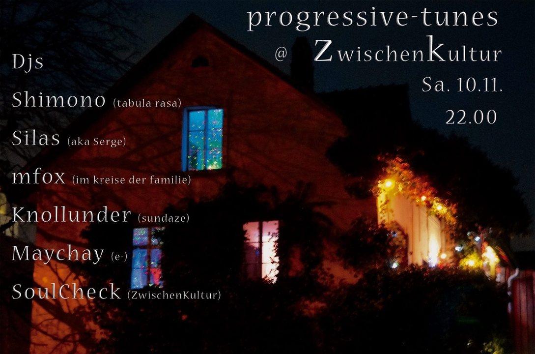 progressive tunes 10 Nov '18, 22:00