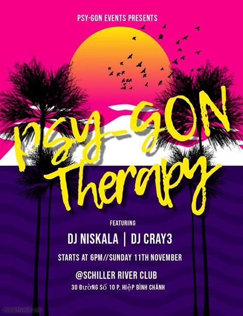 Party Flyer Psy-Gon Therapy 11 Nov '18, 18:00