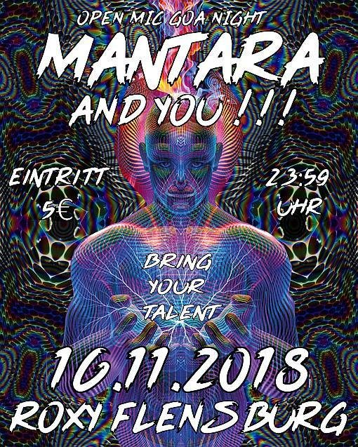 Mantara and you!!! – Open Mic Goa Night 16 Nov '18, 23:30