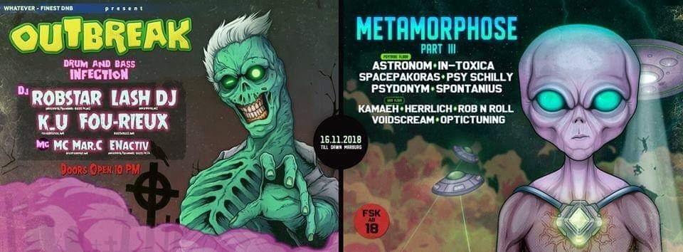 Metamorphose III 16 Nov '18, 22:00