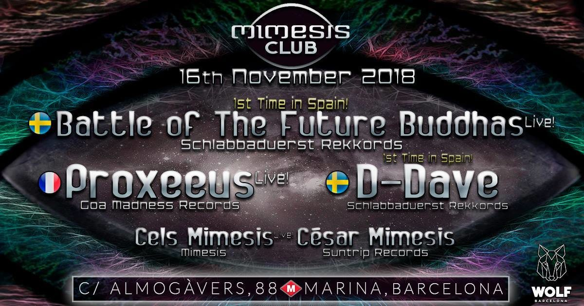 Mimesis CLUB 16 Nov '18, 23:30