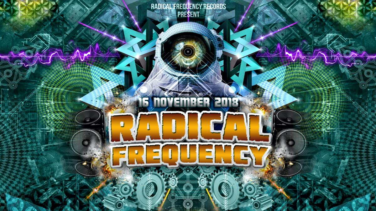 Party Flyer Radical Frequency @ Sakog /w Pastor John K-Freq Selective Mood Naima and more! 16 Nov '18, 21:00