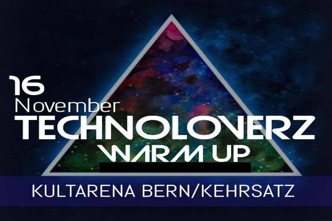 Party Flyer TechnoLoverZ - Techno WarmUp! 16 Nov '18, 21:00