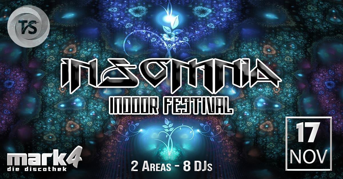 Party Flyer InsOMnia Indoor Festival - Psy / Prog / Techhouse / Techno 17 Nov '18, 22:00