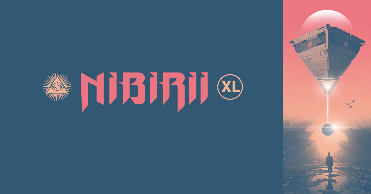 Party Flyer Nibirii XL: Pendulum / Warriors by SKAZI & Mr. Black / Onyvaa 17 Nov '18, 23:00