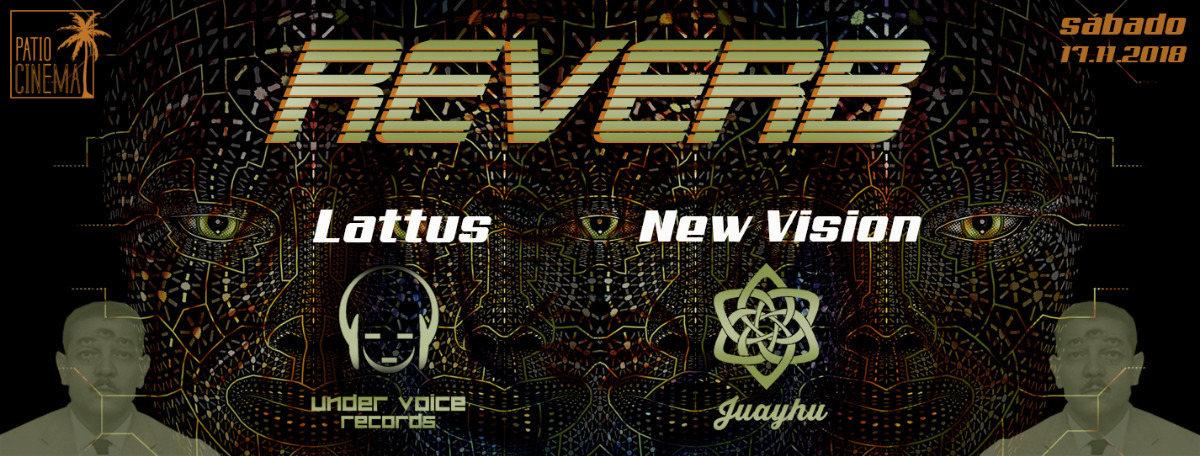 Party Flyer REVERB - Juayhu & Undervoice reunion 17 Nov '18, 22:00