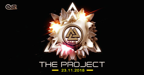 """Party Flyer """"The Project"""" 23 Nov '18, 22:00"""