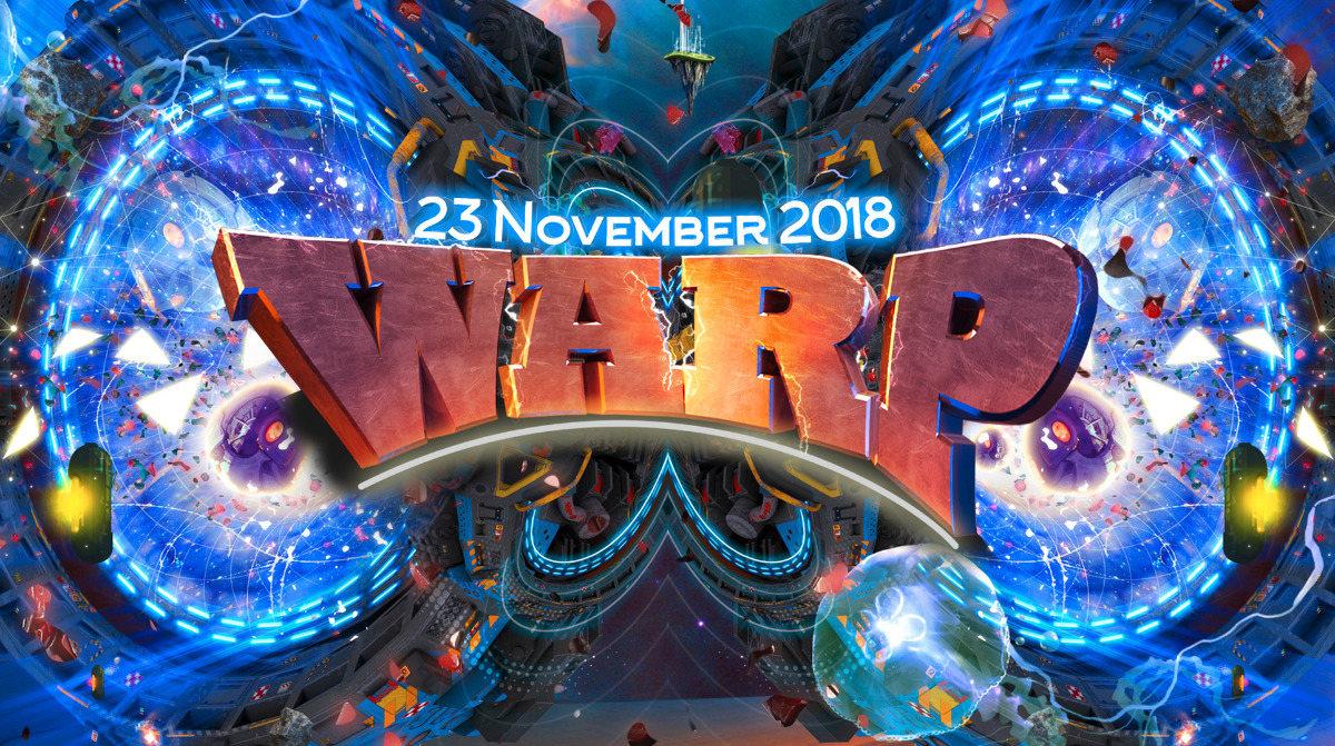 """Party Flyer Warp presents: """"Portal to Mars!"""" 23 Nov '18, 23:00"""