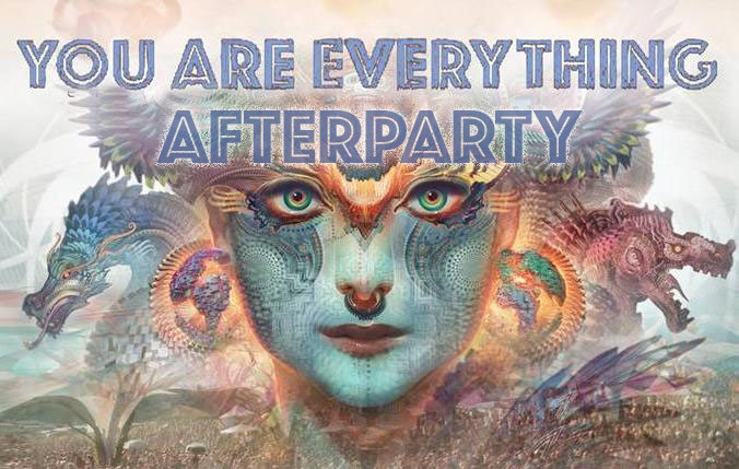 Party Flyer You Are Everything - Afterparty 23 Nov '18, 21:00