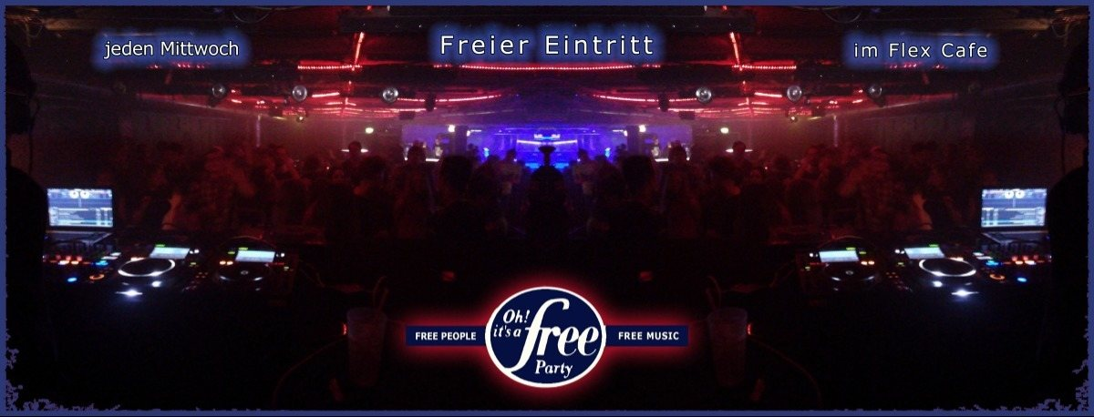 Party Flyer Oh it's a Free Party - 28. November 2018 - Techno Trance ClassiX 28 Nov '18, 23:00