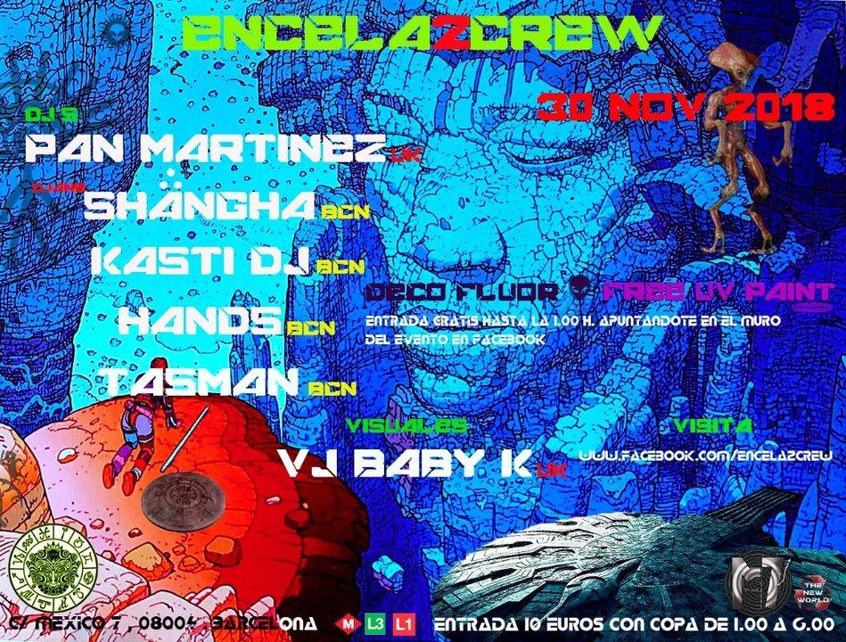 Party Flyer ENCELA2CREW PRESENTS: 30 Nov '18, 23:30