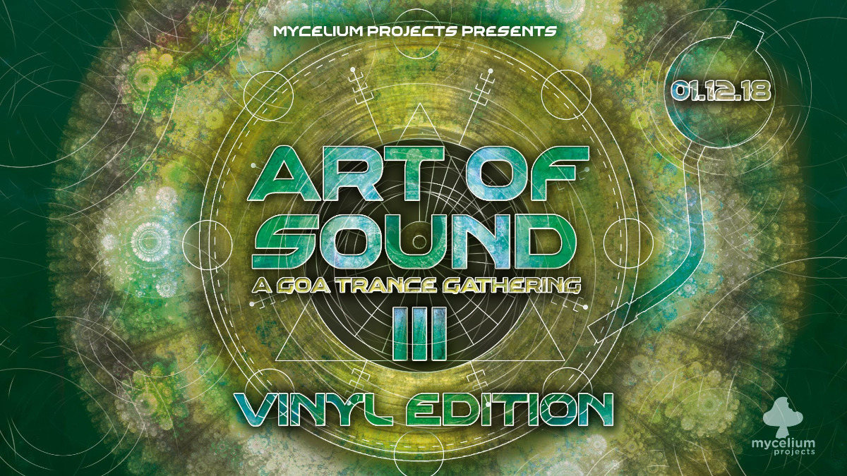 Party Flyer Art Of Sound III - Vinyl Edition - GANGGURU LIVE 1 Dec '18, 21:00