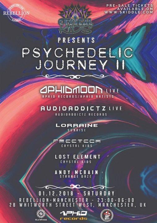 Party Flyer Psychedelic Journey II 1 Dec '18, 23:00