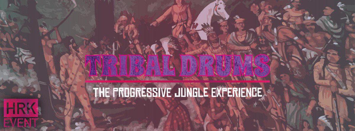 Party Flyer Tribal Drums //HRK 7 Dec '18, 21:00