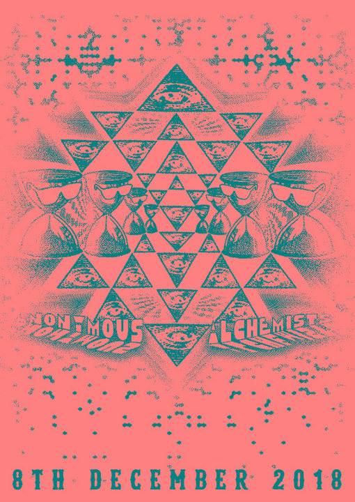 Party Flyer 08/12/18 Anonymous Alchemists Meeting 8 Dec '18, 21:00