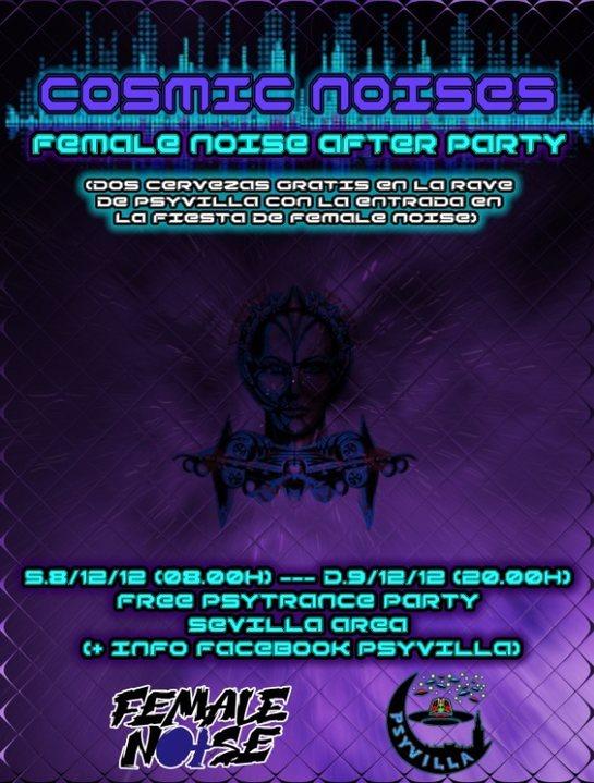 Party Flyer COSMIC NOISES 8 Dec '18, 08:00