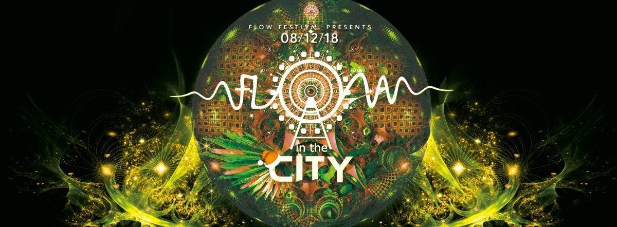 Party Flyer FLOW in the CITY 2018 - WIEN 8 Dec '18, 22:00