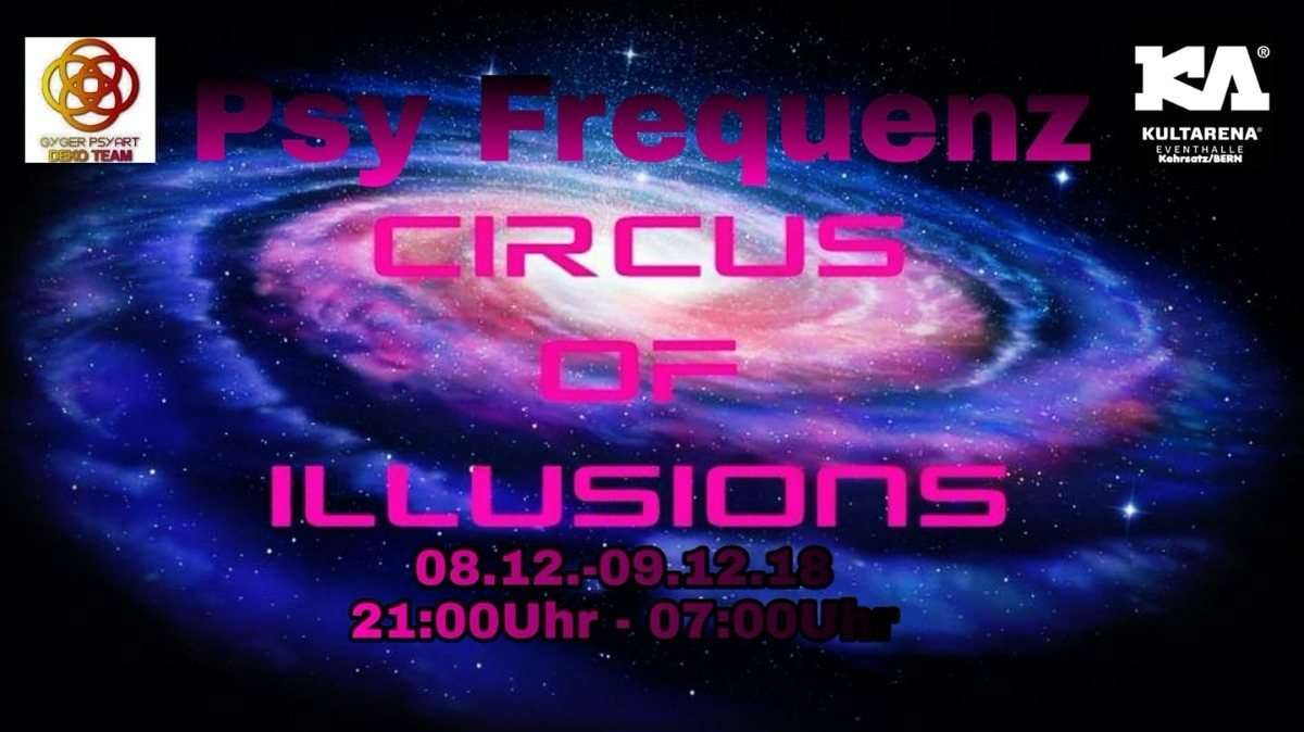 Party Flyer Psy Frequenz 8 Dec '18, 21:00
