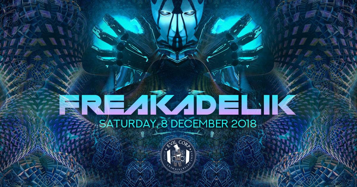 Party Flyer Freakadelik w/ Magik (Nano Records) 2 Stage 9 Dec '18, 23:00