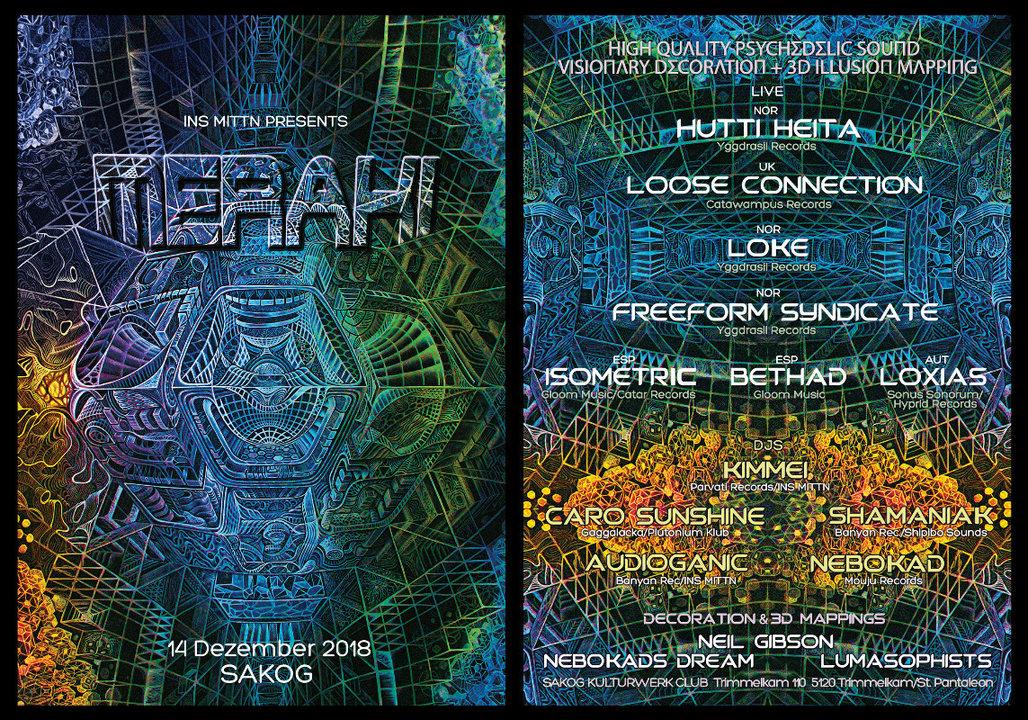 Party Flyer INS MITTN presents MERAKI 14 Dec '18, 22:00