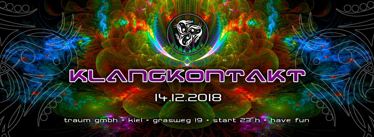 Party Flyer klangkontakt 14 Dec '18, 23:00