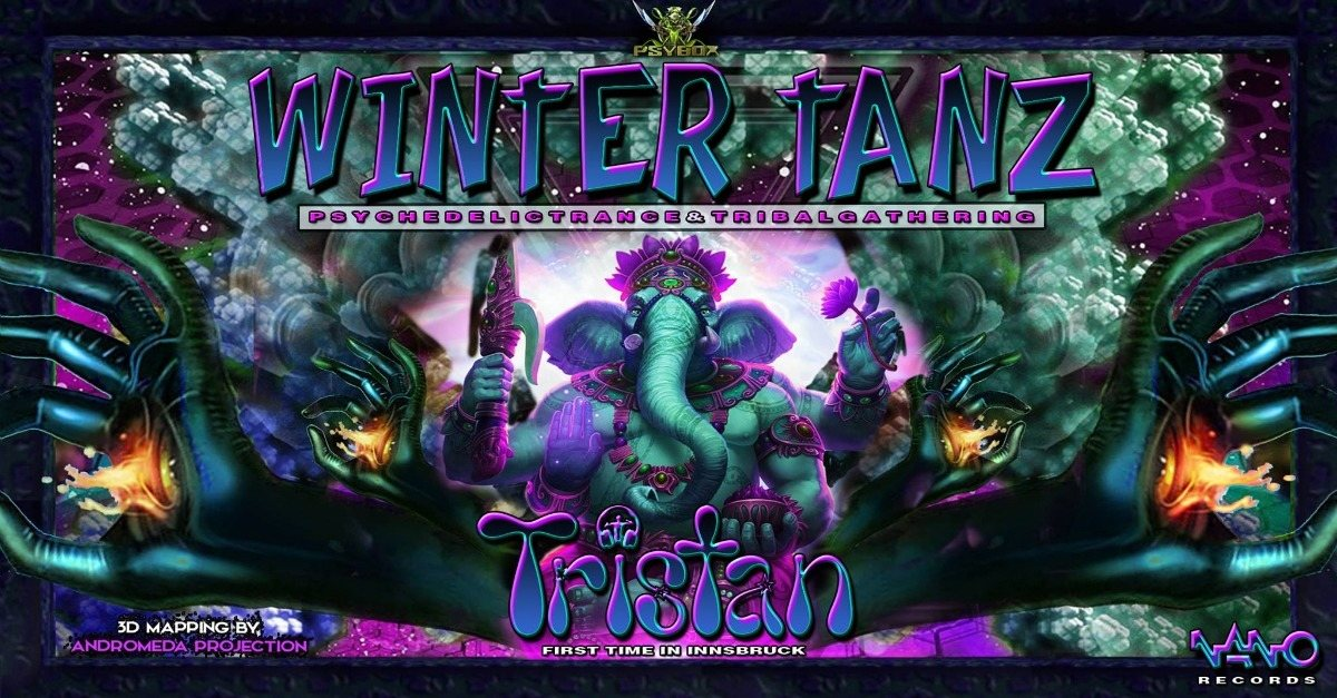 Party Flyer Psybox - Wintertanz 2018 with TRISTAN *live 14 Dec '18, 22:00