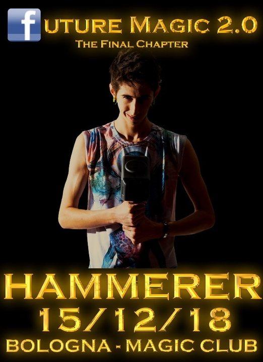 Party Flyer HAMMERER IN BOLOGNA 15 Dec '18, 22:00